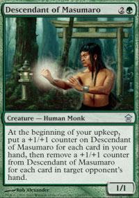 Descendant of Masumaro Magic Card