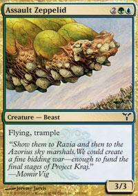 Assault Zeppelid Magic Card