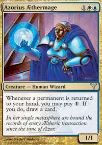 Azorius AEthermage Magic Card