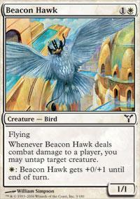 Beacon Hawk Magic Card