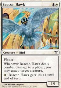 Beacon Hawk Magic Card
