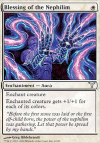 Blessing of the Nephilim Magic Card
