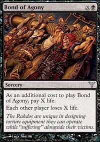 Bond of Agony Magic Card