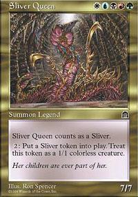 Sliver Queen Magic Card