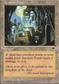 Ancient Tomb Magic Card