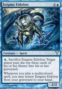 Enigma Eidolon Magic Card