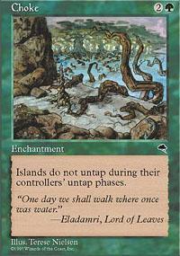 Choke Magic Card