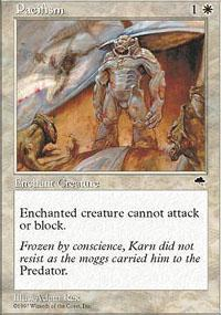 Pacifism Magic Card
