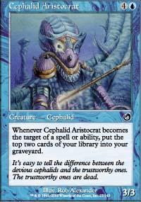 Cephalid Aristocrat Magic Card