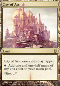 City of Ass Magic Card