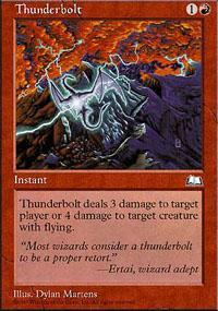 Thunderbolt Magic Card
