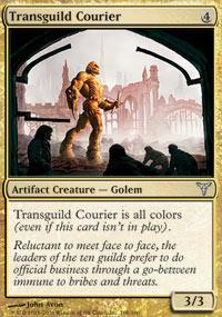Transguild Courier Magic Card