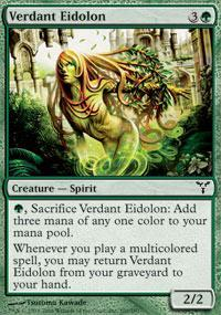 Verdant Eidolon Magic Card