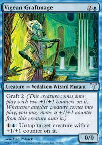Vigean Graftmage Magic Card