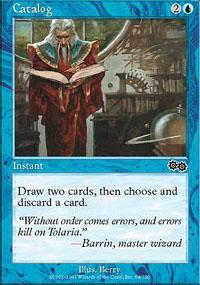 Catalog Magic Card
