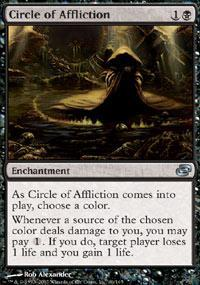 Circle of Affliction Magic Card