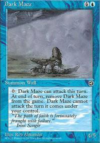 Dark Maze Magic Card