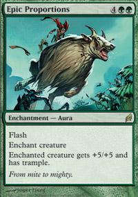 Epic Proportions Magic Card