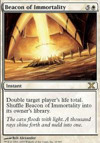 Beacon of Immortality Magic Card