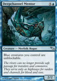 Deepchannel Mentor Magic Card