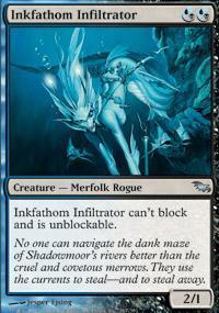 Inkfathom Infiltrator Magic Card