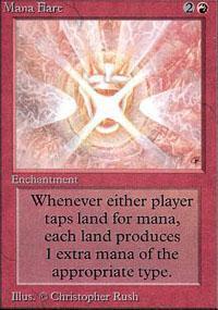 Mana Flare Magic Card