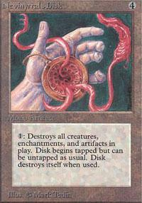 Nevinyrral's Disk Magic Card