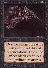 Terror Magic Card