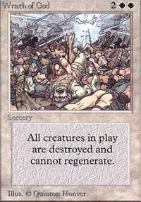 Wrath of God Magic Card