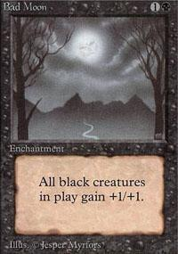 Bad Moon Magic Card