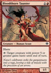 Bloodthorn Taunter Magic Card