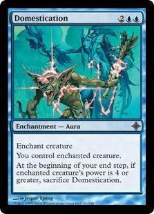 Domestication Magic Card