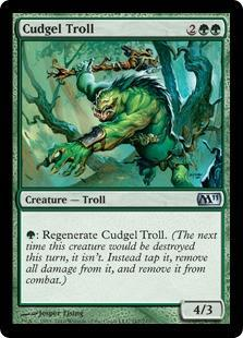 Cudgel Troll Magic Card