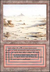 Badlands Magic Card