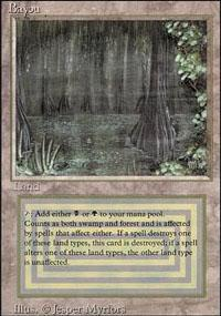 Bayou Magic Card