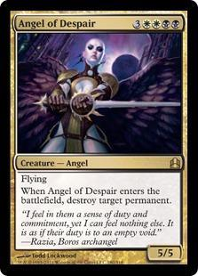 Angel of Despair Magic Card