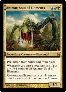 Animar, Soul of Elements Magic Card