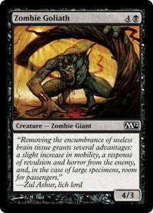 Zombie Goliath Magic Card