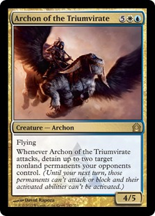 Archon of the Triumvirate Magic Card