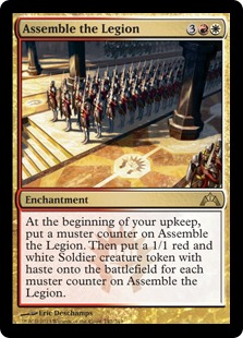 Assemble the Legion Magic Card