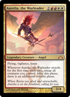 Aurelia, the Warleader Magic Card