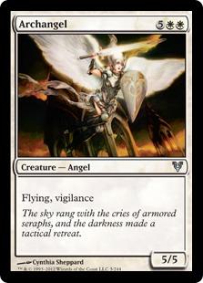 Archangel Magic Card