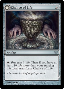 Chalice of Life Magic Card