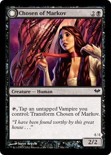 Chosen of Markov Magic Card