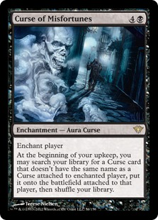 Curse of Misfortunes Magic Card