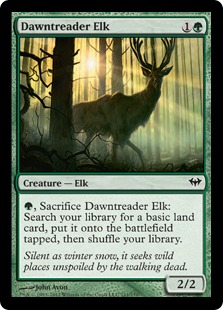 Dawntreader Elk Magic Card