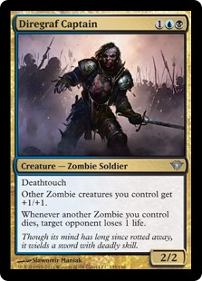 Diregraf Captain Magic Card