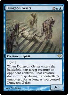 Dungeon Geists Magic Card
