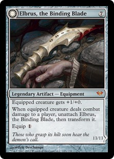 Elbrus, the Binding Blade // Withengar Unbound Magic Card