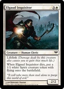 Elgaud Inquisitor Magic Card